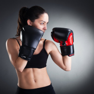 stock-photo-19994956-female-boxer